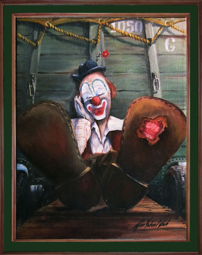 Clowns and Art Supplies and the Muse  | StoryDoors