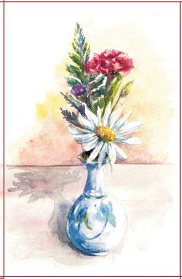 Vase Drawing Pencil Still Life